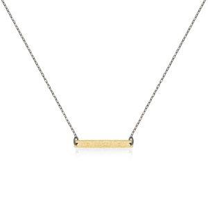 GoldPlate_GunMetal Chain
